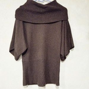 Ann Taylor Loft Brown Cowl Neck Sweater Size Small